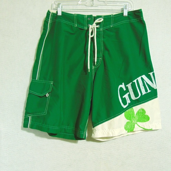 42d4eab6c3 Guiness Other - Guiness Beer Bathing Suit Swim Trunks Sz 36